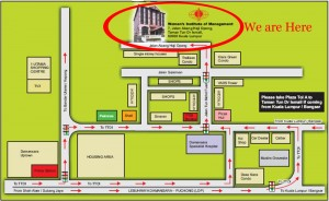 Map to TTDI